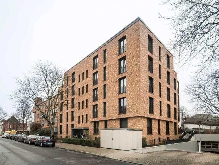 Fünfgeschossiger Neubau in der Leisewitzstraße