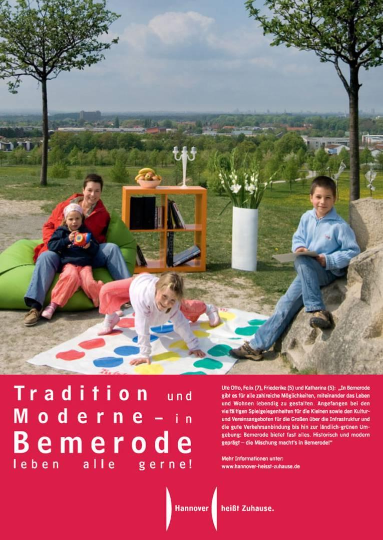 Tradition und Moderne - in Bemerode leben alle gerne!