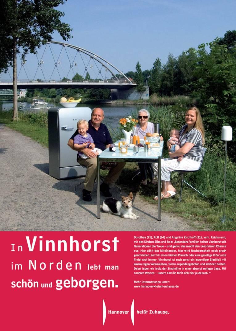 In Vinnhorst im Norden lebt man schön und geborgen