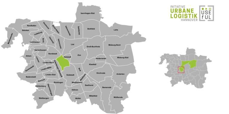 Übersicht der Strukturdaten des Stadtteils Hannover-Mitte