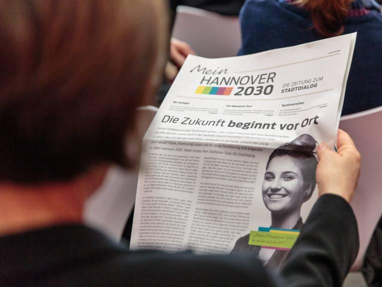 """Die Zeitung """"Mein Hannover 2030"""""""
