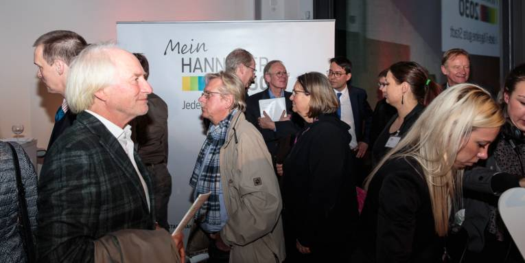 """Präsentation des Entwurfs für das Stadtentwicklungskonzept """"Mein Hannover 2030"""" – 19. November 2015 im Sprengel Museum"""