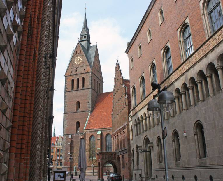 Die Marktkirche zu Hannover