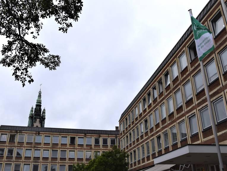 Flaggentag in Münster