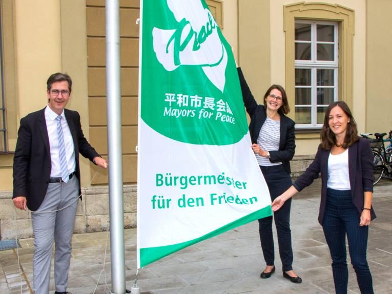 Flaggentag in Würzburg