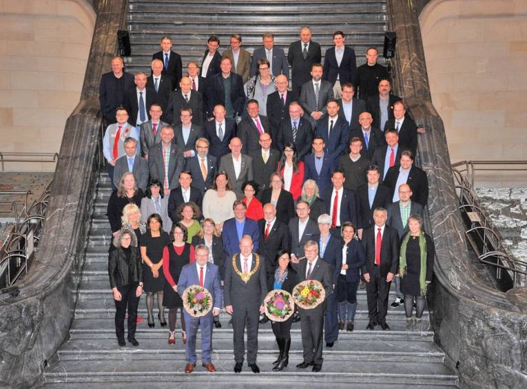 Der neue Rat der Landeshauptstadt Hannover