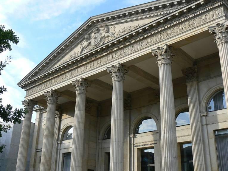 Das Landtagsgebäude von außen