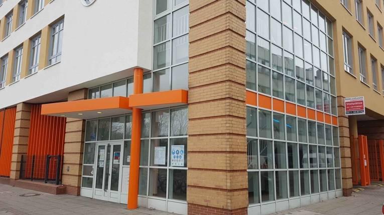 Eingangsbereich Brüderstraße 5