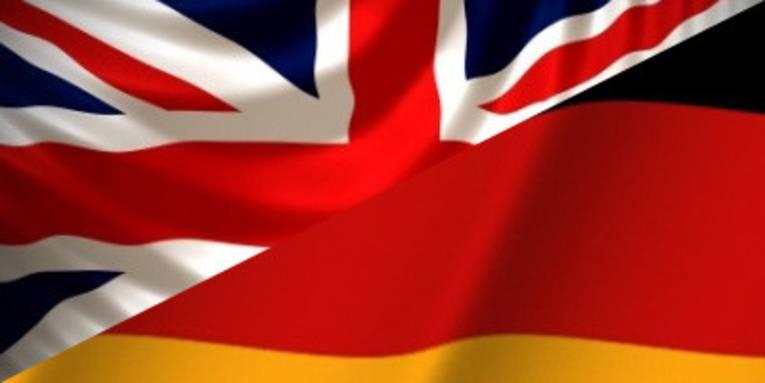 german/english flag