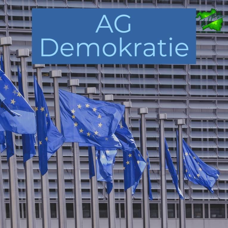 Foto von Fahnen der Europäischen Union