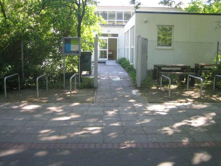 Jugendtreff Herrenhausen - Außenaufnahme vom Gebäude