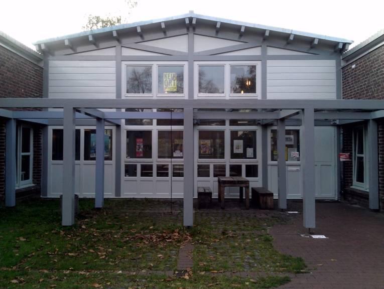 Außenaufnahme des Jugendzentrums Sahlkamp