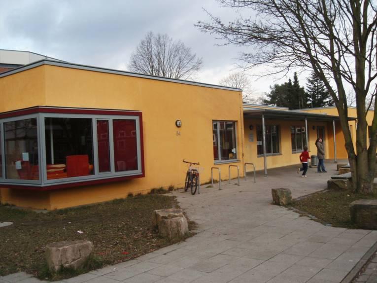 Außenaufnahme des Kinder- und Jugendhauses Hainholz