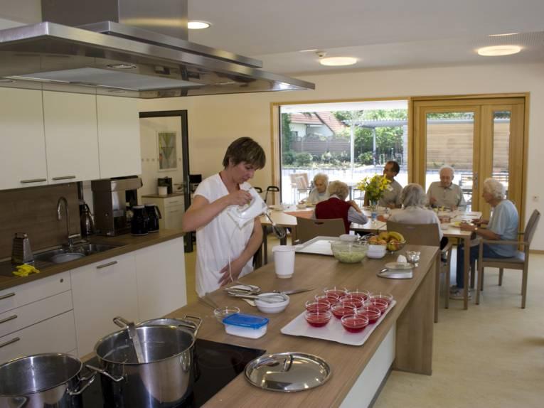 Die Küche des Klaus-Bahlsen-Hauses