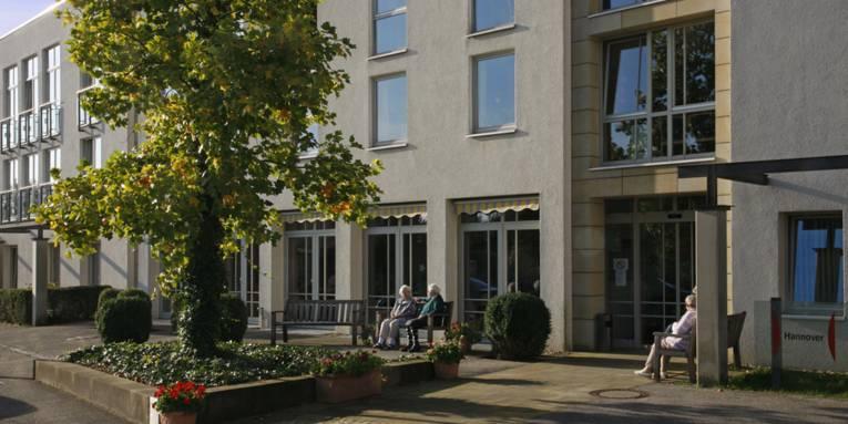 Außenansicht des Herta-Meyer-Hauses