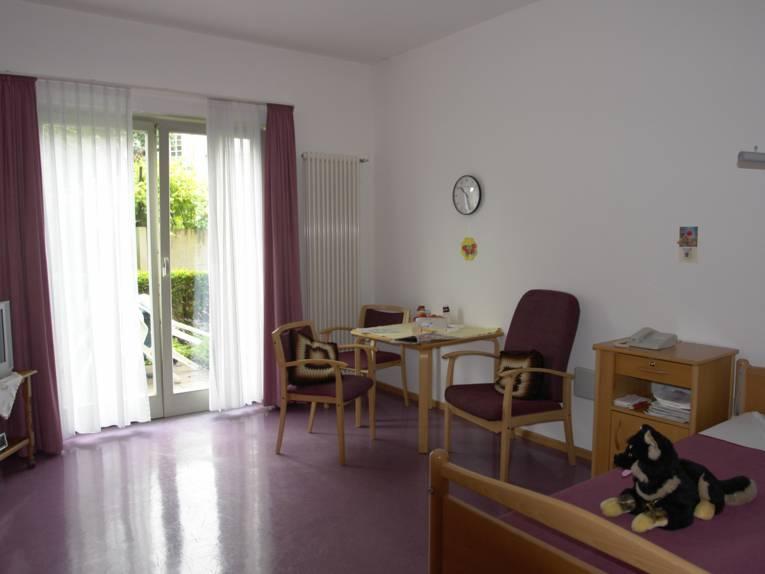 Blick in ein Zimmer des Herta-Meyer-Hauses