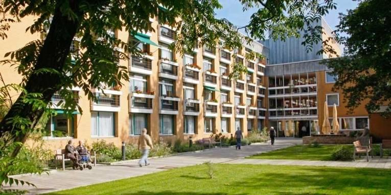 Außenansicht des Seniorenzentrums Willy-Platz-Heim