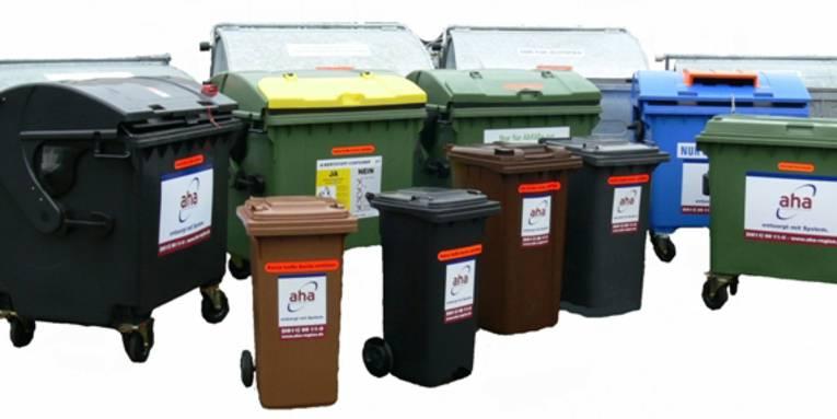 Mülltrennung entlastet die Umwelt