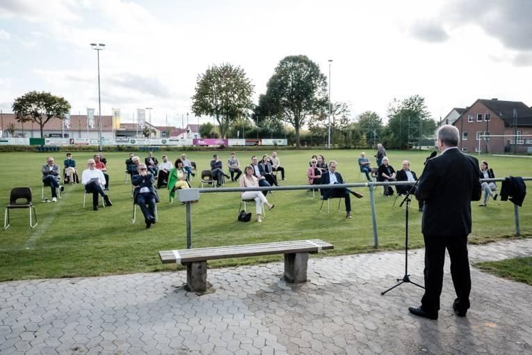 Abschlussveranstaltung auf Abstand beim TSV Ingeln-Oesselse