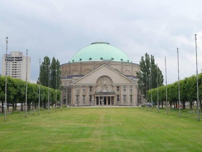 Eingangsportal zum Hannover Congress Centrum