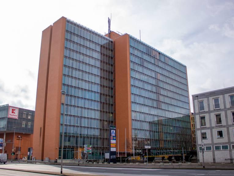 Gebäude des Fachbereich Soziales in der Hamburger Allee 25