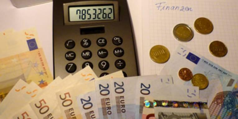 Taschenrechner und Euros