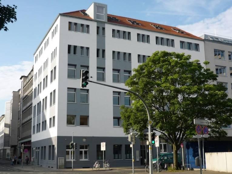 Außenansicht des Gebäudes in der Brüderstraße 6