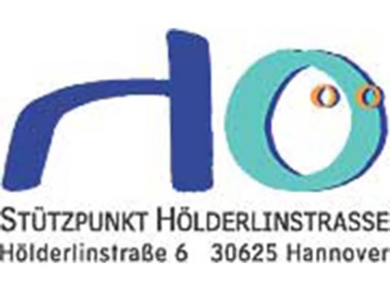 Logo Hölderlinstraße mit Adressangabe