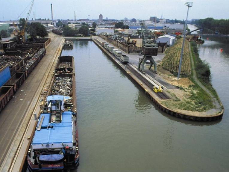 Brinker Hafen - Hafenbecken