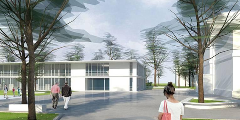 Animation von Gebäuden