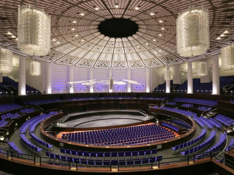 Ein Konzertsaal.
