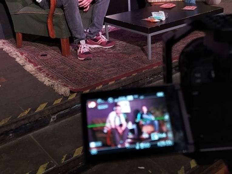 Aufnahme im Studio
