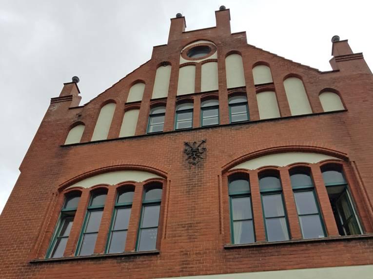 Ein Gebäude