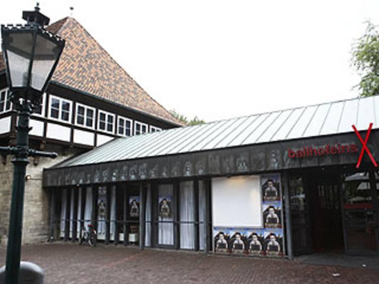 Außenansicht des Theaters Ballhof Eins.