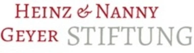 Logo mit der Schrift Heinz und Nanny Geyer-Stiftung