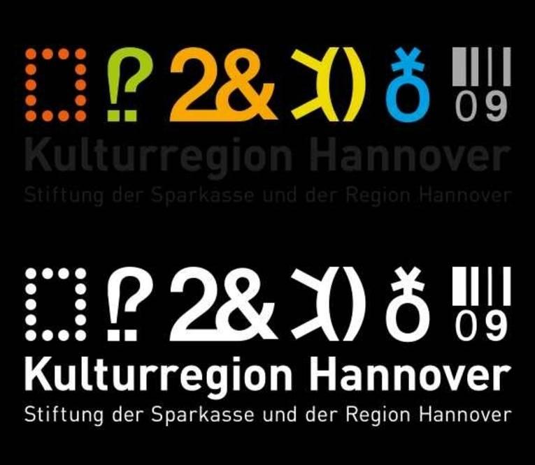 Logo mit der Aufschrift Kulturregion Hannover Stiftung der Sparkasse und der Region Hannover