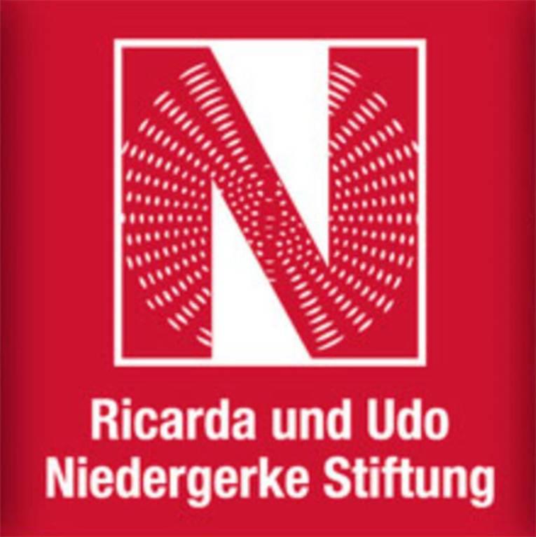 Logo mit einem großen N und der Schrift Ricarda und Udo Niedergerke Stiftung