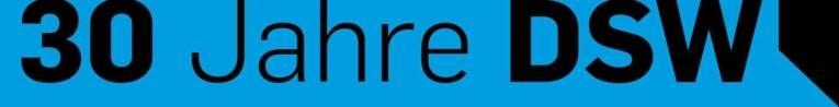 Logo mit der Schrift 30 Jahre DSW