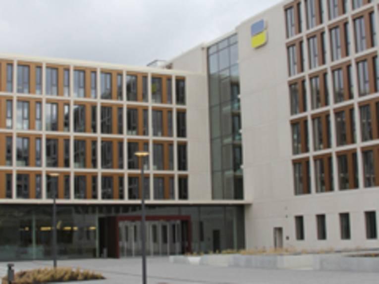 Mehrgeschossiges Bürogebäude