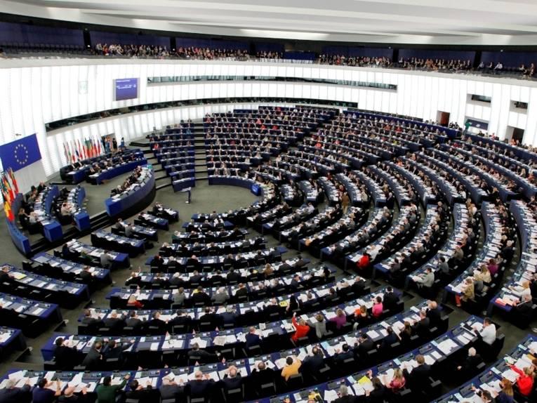 Plenarsitzung des EU-Parlaments in Straßburg