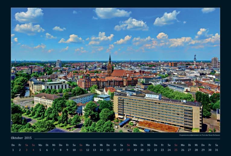 Hannover von oben.