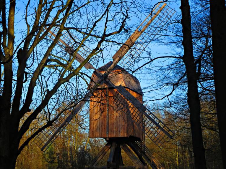 Windmühle.