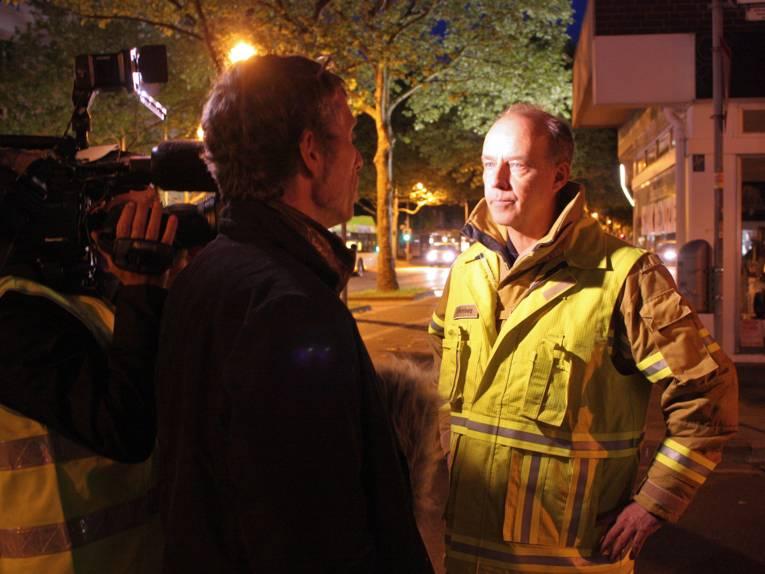 Der stellvertretende Feuerwehrchef Dieter Rohrberg im Interview