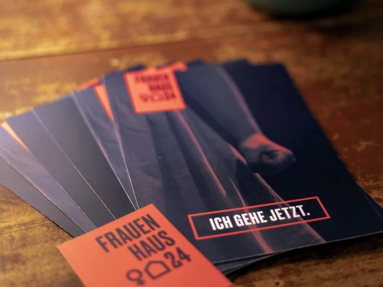 """Flyer """"Ich gehe jetzt"""" zum Frauenhaus24"""
