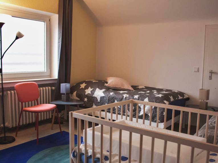 Mehrbettzimmer im Frauenhaus24