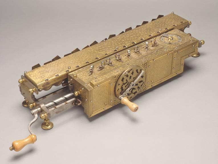 Rechenmaschine von G.W. Leibniz