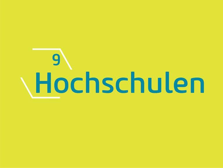 9 Hochschulen