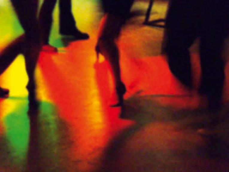 Tanzfläche im Haus der Jugend