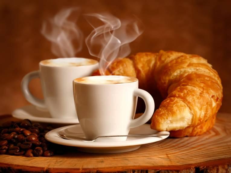Bäckerei und Cafés