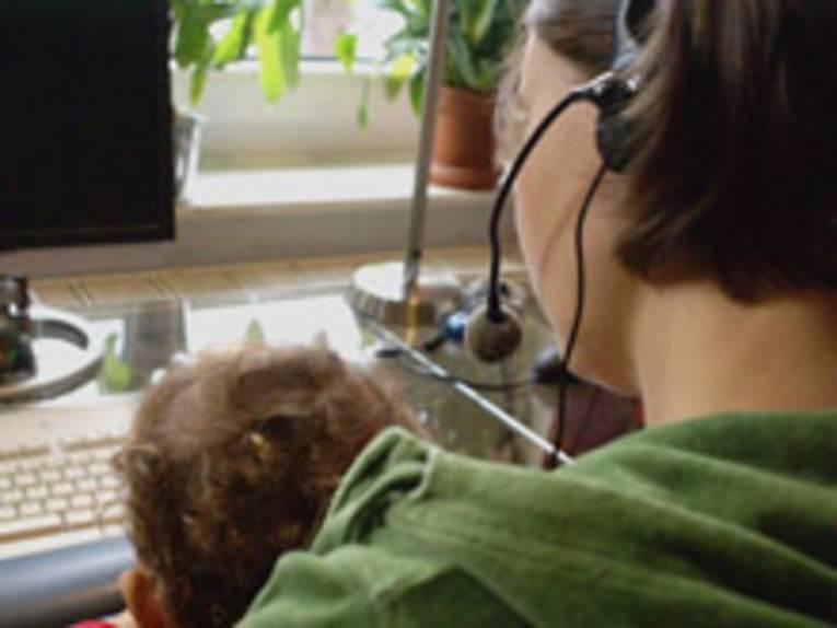 Telefonie und Kind